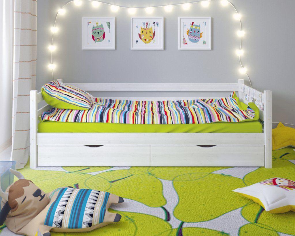 Односпальные кровати - лучший выбор для детской и не только